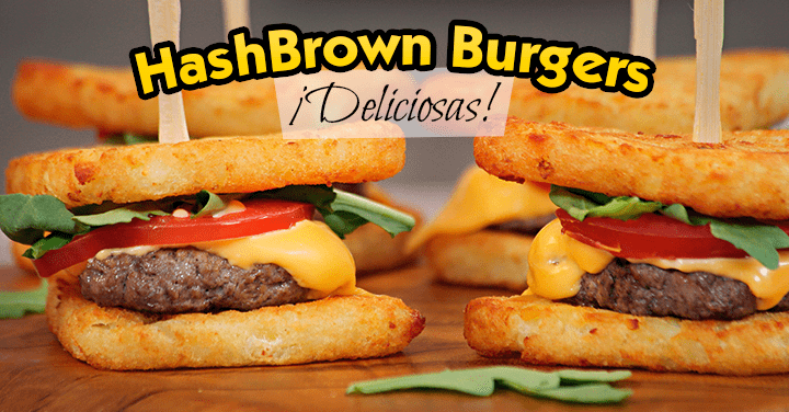 Receta Hamburguesas HashBrown